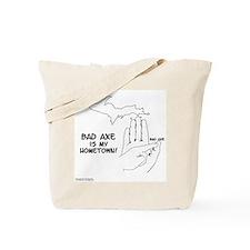 Bad Axe Tote Bag