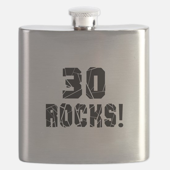 30 Rocks Birthday Designs Flask