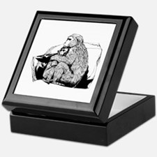 Macaque Keepsake Box
