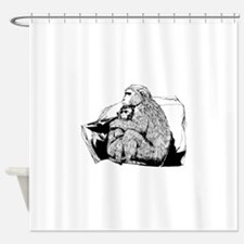 Macaque Shower Curtain