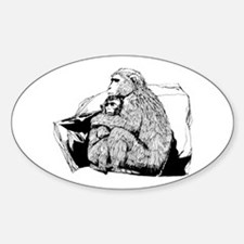 Macaque Decal