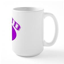 Proud Oma (purple) Mug