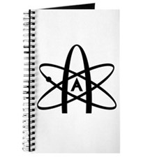 Cute Athiest symbol Journal