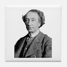 Sir john a MacDonald 1st prime minist Tile Coaster