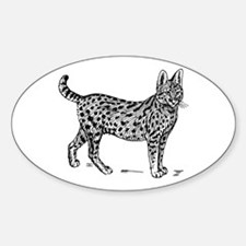 Serval Decal