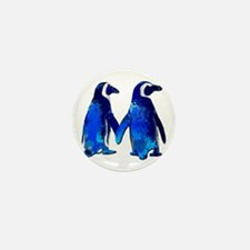 Love penguins Mini Button