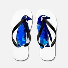 Love penguins Flip Flops