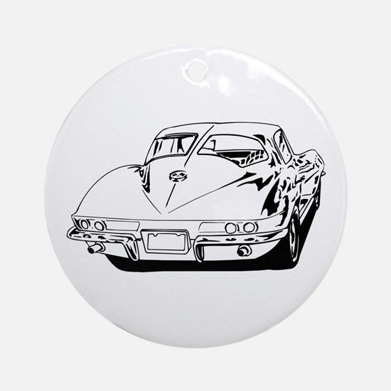 Ferrari Enzo Round Ornament