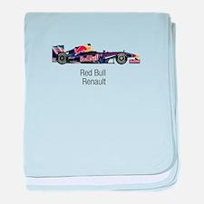 Red Bull Renault baby blanket