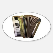 Brown Accordian Decal