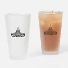 Us capitol building Drinking Glass