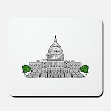 Us capitol building Mousepad