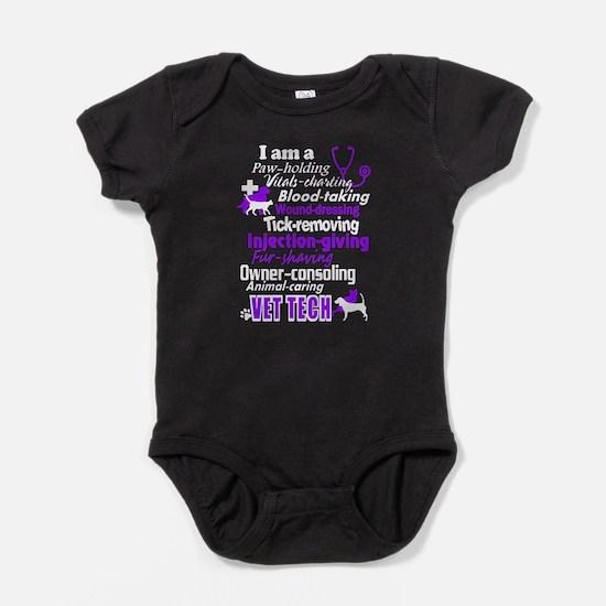 vet tech shirts Baby Bodysuit
