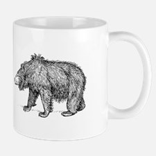 Sloth bear Mugs