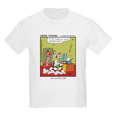 #32 Hot on the trail Kids Light T-Shirt
