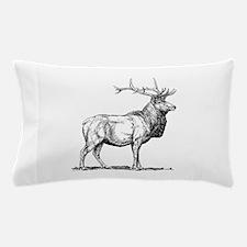 Elk silhouette Pillow Case