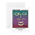 #90 Laughter Greeting Cards (Pk of 10)