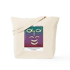 #90 Laughter Tote Bag