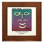 #90 Laughter Framed Tile