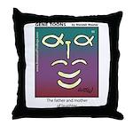#90 Laughter Throw Pillow