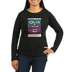 #90 Laughter Women's Long Sleeve Dark T-Shirt