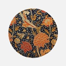 """Floral by William Morris 3.5"""" Button (100 pack)"""