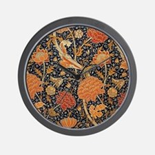 Floral by William Morris Wall Clock