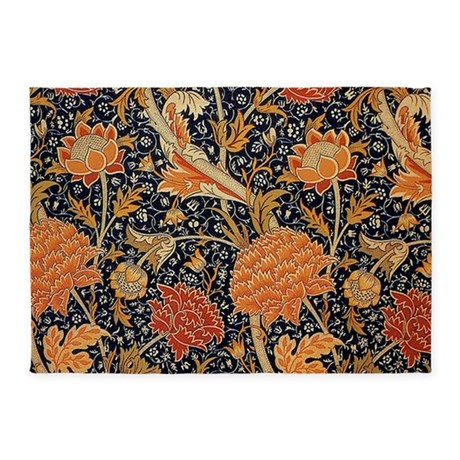 Floral By William Morris 5u0027x7u0027Area Rug