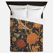 Floral by William Morris Queen Duvet
