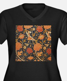 Floral by William Morris Plus Size T-Shirt