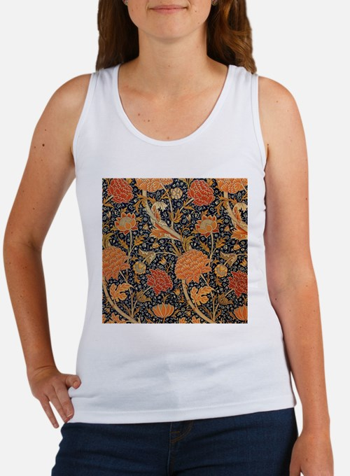 Floral by William Morris Tank Top