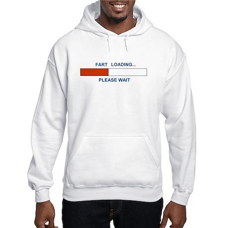 FART LOADING... Hooded Sweatshirt