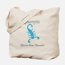 Cute Scorpio Tote Bag