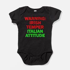 Cool Irish italian Baby Bodysuit