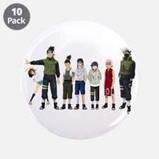 """Anime characters 3.5"""" Button (10 pack)"""