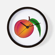 Coredump Peach Wall Clock
