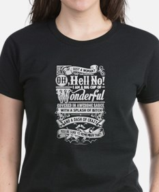 Just a Woman Oh, Hell No T-Shirt