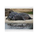 Hippopotamus Fleece Blankets