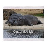 Hippo Fleece Blankets