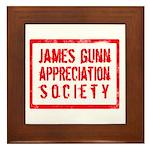 JGAS Red Framed Tile