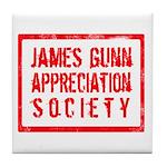JGAS Red Tile Coaster