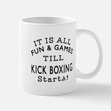 Kick Boxing Fun And Game Designs Mug