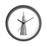 Transamerica building Wall Clocks