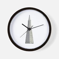 Transamerica building Wall Clock