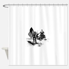 Apollo Moon Landing Shower Curtain