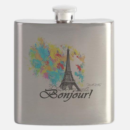 Unique France Flask