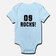 09 Rocks Birthday Designs Onesie