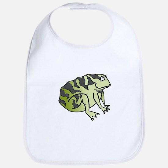 Green Toad Bib
