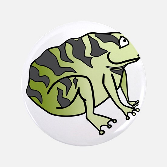 Green Toad Button