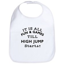 High Jump Fun And Games Designs Bib